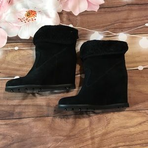 UGG Australia hidden wedge suede boot